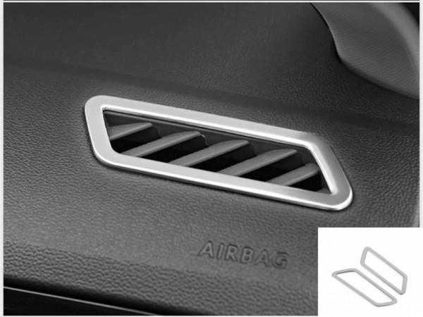 Edelstahl Lüftungs Rahmen Blende Abdeckung Passend Für VW T-Roc TDI TSI