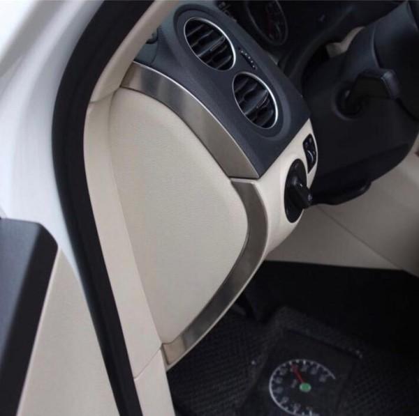 Armaturenbrett Seitenleisten Blende Abdeckung Passend Für VW Tiguan 1