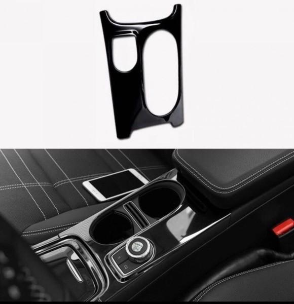 Mittelkonsole Armaturenbrett Veredelung Passend Für Mercedes Benz A Klasse GLA CLA Lack Optik Schwarz