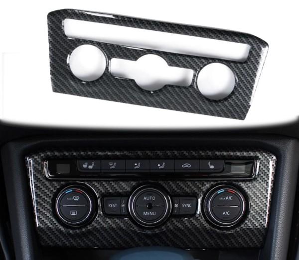 Klima Heizung Regler Blende Abdeckung Passend Für VW Tiguan 2 AD1 MK2 TDI TSI